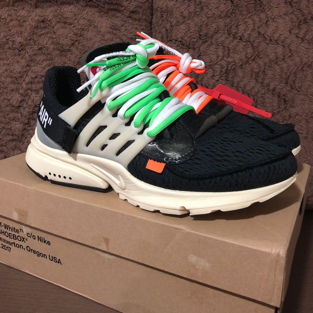 c8c5222e22ab39 Nike x off white presto OG