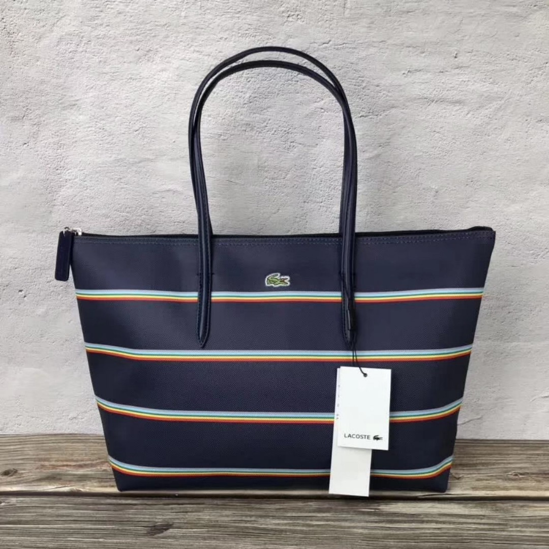 584950c0ee ON HAND: Authentic Lacoste Shopper Tote Bags, Women's Fashion, Bags ...