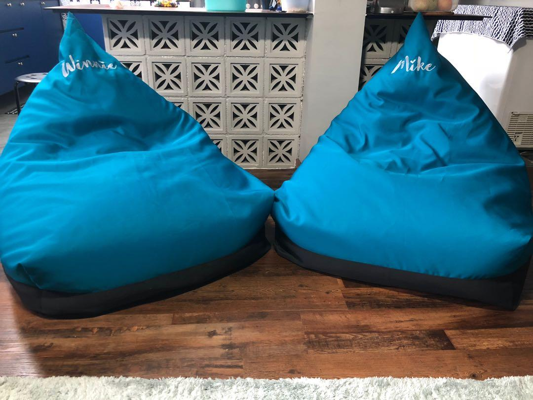 Remarkable Personalised Name Beanbag Furniture Home Decor Others On Lamtechconsult Wood Chair Design Ideas Lamtechconsultcom