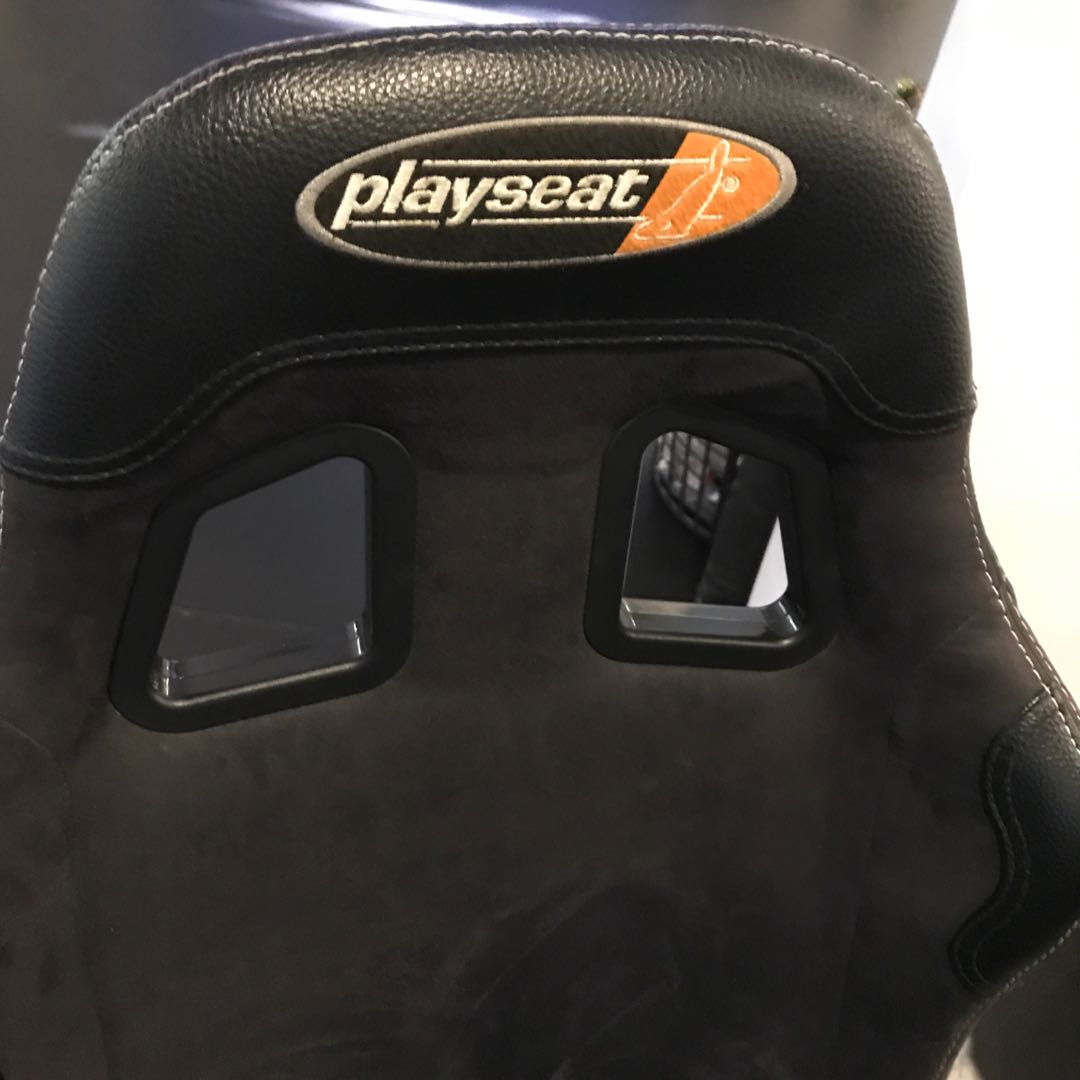 Playseat driving simulator seat with free PS3 steering wheel and pedals