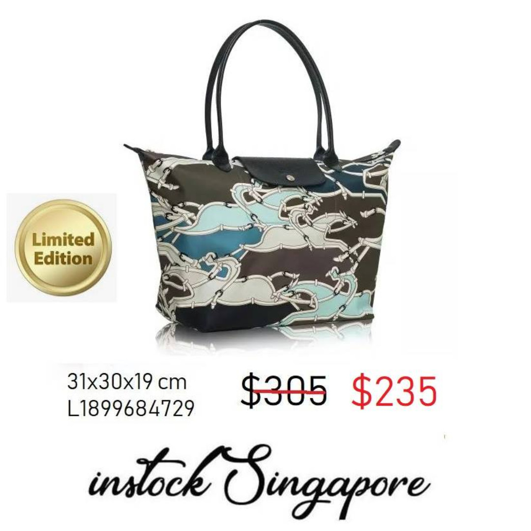 READY STOCK authentic new Longchamp Large Longhandle shopping bag Le ... e1769da49814d