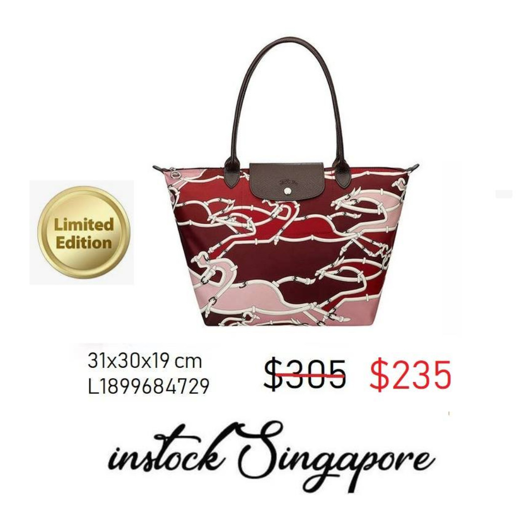 READY STOCK authentic new Longchamp Large Longhandle shopping bag Le ... fb23f6a9ea