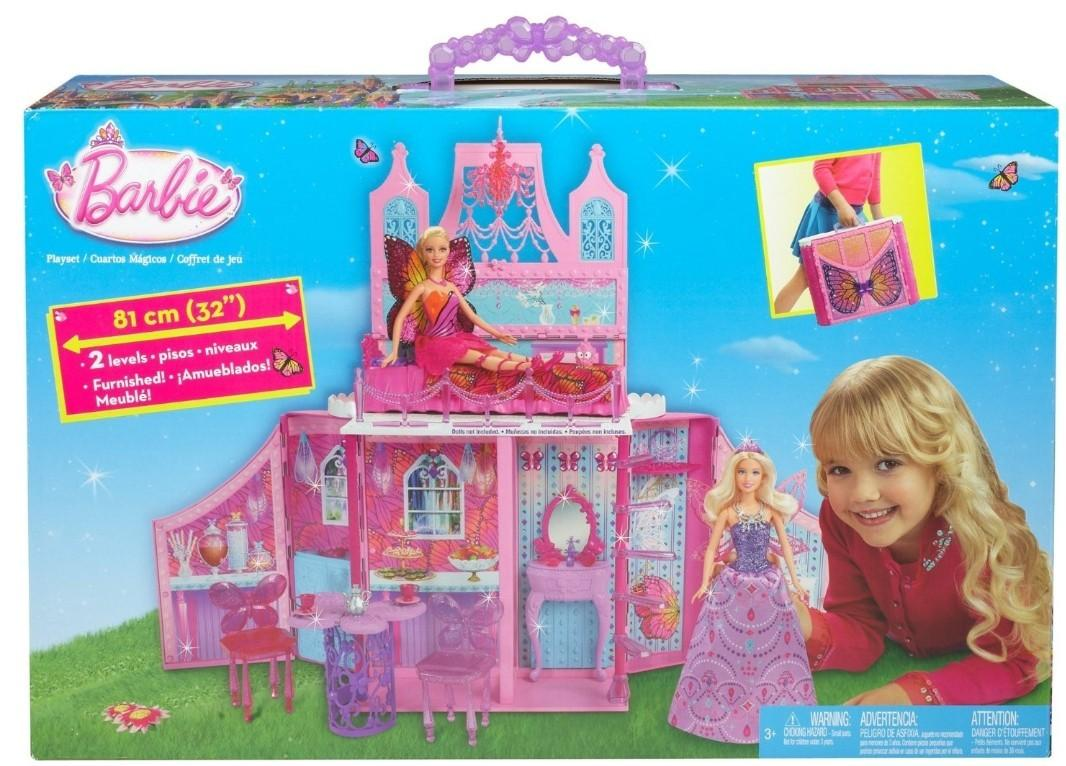 Barbie doll house set, Babies & Kids, Toys & Walkers on