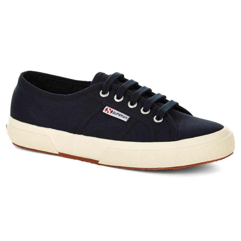 250a21fc39d953 Superga 2750 Navy Blue Cotu Classic Sneakers