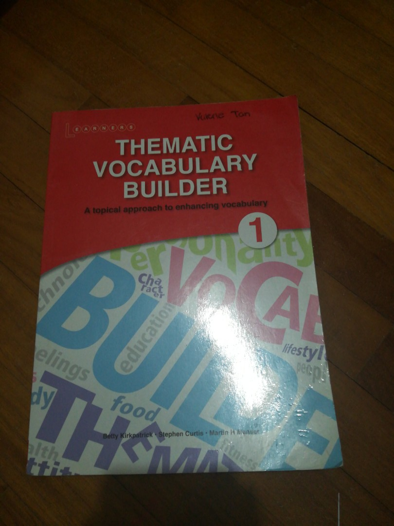 Themaric Vocabulary Builder