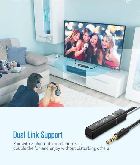 Ugreen Bluetooth Transmitter 4.2 for TV, Headphones and PC