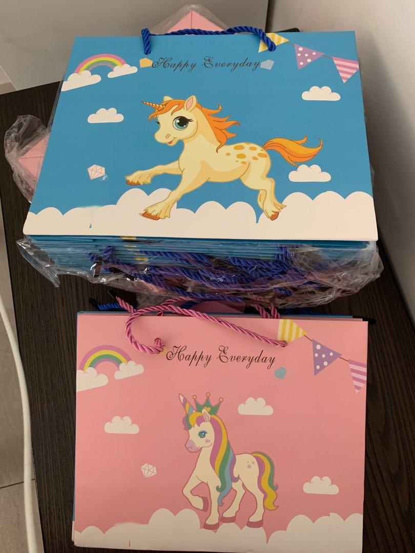 Unicorn Paper Bag Design Craft Others On Carousell