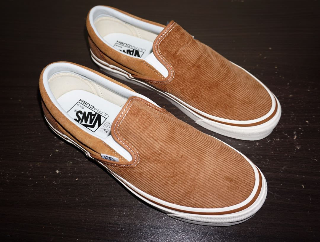51029bf1aa4 Vans Slip-on Classic 98 DX (Anaheim Factory) OG Hart Brown Corduroy ...
