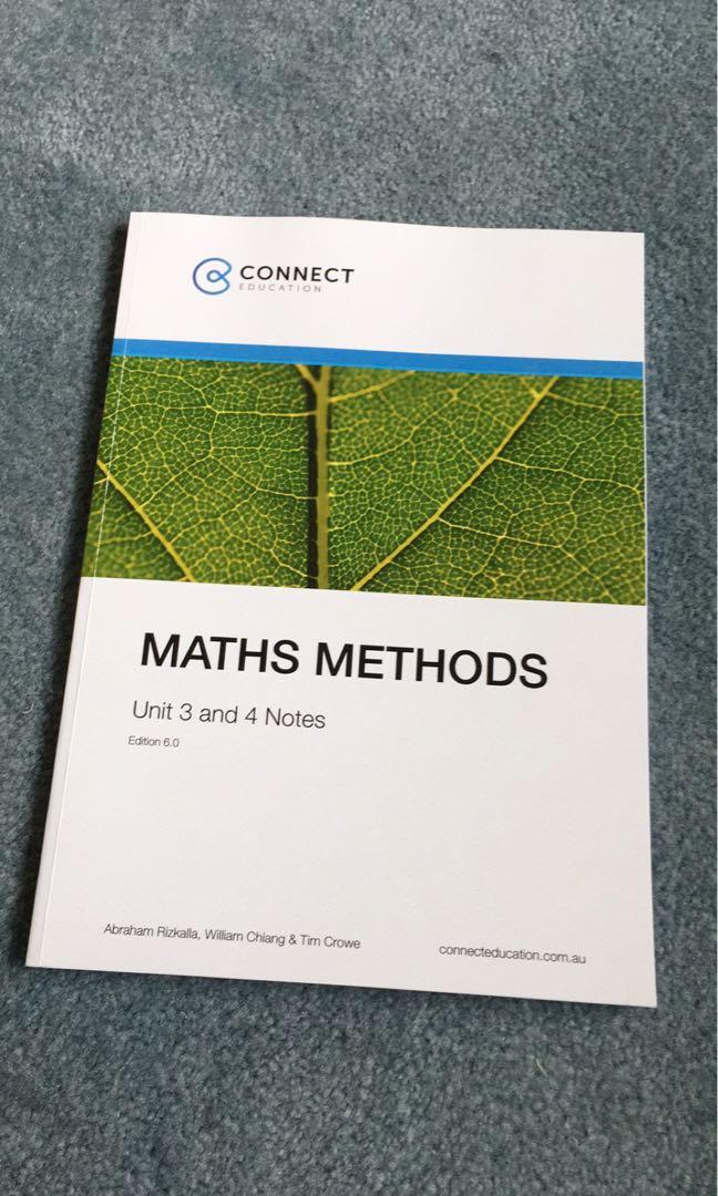 VCE Methods connect education checkpoints examprob