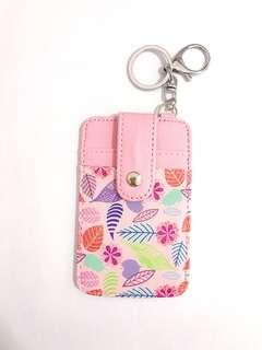Student Bus MRT Card Holder Keychain
