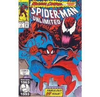 SPIDER-MAN UNLIMITED #1 (1993) First Issue! Maximum Carnage 1st Appearance of Shriek!