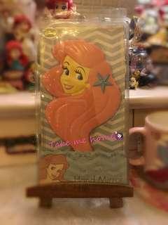 Disney mermaid hand mirror 絕版美人魚 小魚仙 鏡