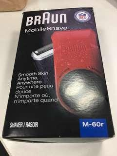Braun Mobile Shave M-60r