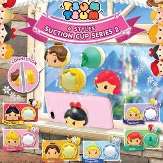Disney Princess Tsum Tsum Suction Cup Series 2 迪士尼公主手機托扭蛋