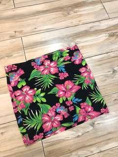 Terranova floral skirt
