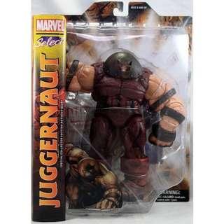 MOSC Marvel Select Juggernaut (Legends BAF X-Men Magneto Toad Mystique Blob BAF)