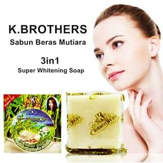 K.Brothers Super Whitening Soap (1 Doz)