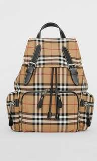 2f021746171b Burberry Medium Rucksack in Vintage Check Nylon