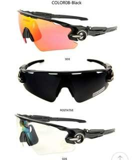 b59de0d760 6🔥Queshark Men Women Polarized Cycling Glasses Sports MTB Bike Bicycle  Sunglasses Goggles 3 Lenses