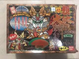 1990年日本制元祖BB戰士 高達42初代頑駄武將軍