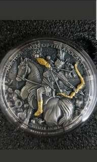 Four hourse silver coin