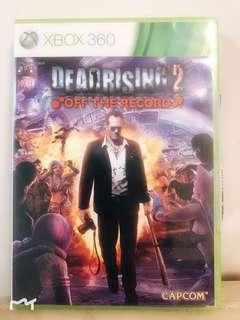 Xbox Game Deadrising 2 off the record