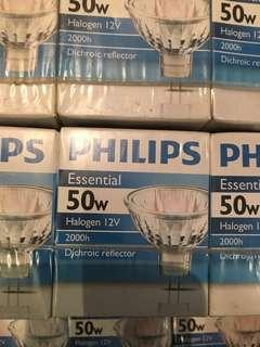 Philips halogen lamps 12V 50W