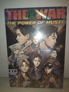EXO THE POWER OF MUSIC ALBUM SEALED