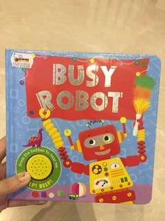 Soundbook busy robot