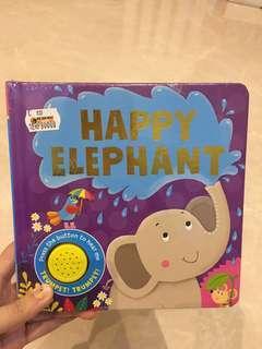 Soundbook happy elephant