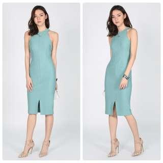 LB Reyna Bodycon Midi Dress