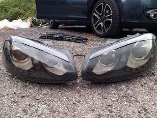 福士 VW GOLF 6 六代 GTI 大燈 魚眼 / HID / 淚眼日行燈