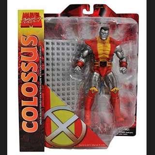 MOSC Marvel Select Colossus (Legends Wolverine Cyclops Jean Grey Dark Phoenix Storm Rogue Gambit Jubilee Juggernaut BAF Avengers)