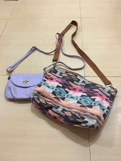 Sling bag bundle! 👍🏻❣️