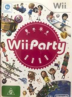 Wii game Wii Party (PAL version)
