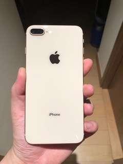 iPhone 8 Plus 金色 64gb