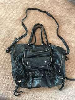 Slouchy Black Bag