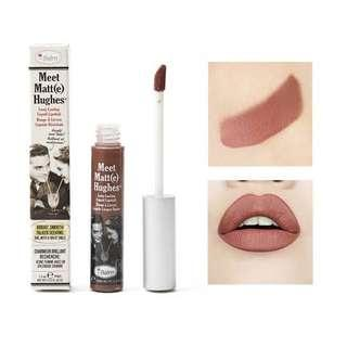 The Balm Meet Matte Hughes in Reliable