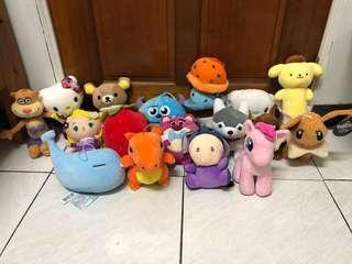 🚚 17隻娃娃一起賣 三麗鷗 神奇寶貝 迪士尼 精靈寶可夢 拉拉熊