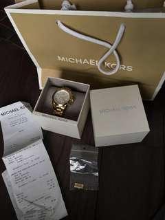 Michael Kors gold tone watch