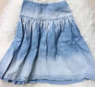 DYE Denim Skirt