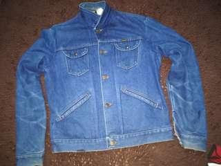 vintage wrangler jeans jacket