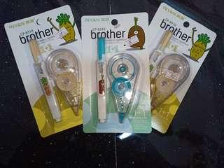 2in1 correction tape and pen