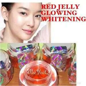 Cream jelly glowing,warna,gold,green,red,pink