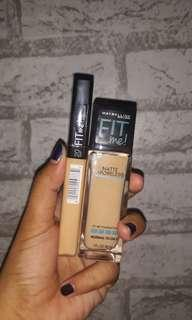 MAYBELLINE FIT ME FOUNDATION & CONCEALER