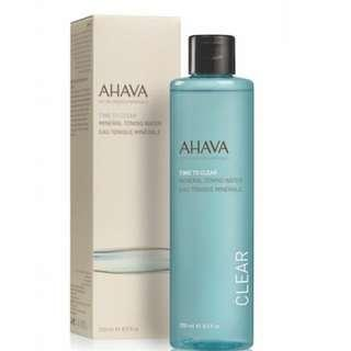 全新 Ahava  Time to Clear Mineral Toning Water  礦物爽膚水