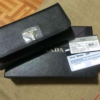 PRADA walllets from JAPAN auction with authenticity card