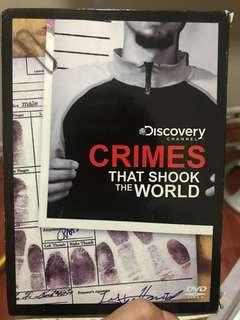 Crimes that Shook the World DVD