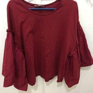 PRELOVED Zarah blouse