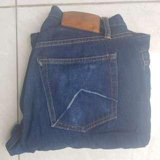 Aye Denim jeans not elhaus, PMP, wing man, sage, mischief